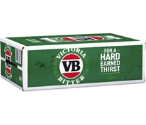 Victoria Bitter Can 375mL