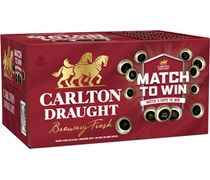 Carlton Draught Bottle 375mL