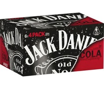Jack Daniels & Cola Bottle 330mL