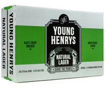 Young Henrys Natural Lager Can 375mL