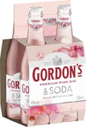 Gordon's Pink Gin RTD Bottle 330mL
