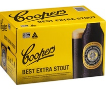 Coopers Extra Stout 6pack Bottle 375mL