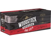 Woodstock Bourbon & Cola 4.8% Can  375mL (10Pack)
