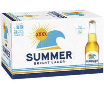 Summer Bright Lager Bottle 330mL