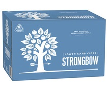 Strongbow Lower Carb Cider Bottle 355mL