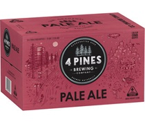 4 Pines Brewing Pale Ale 6pack Bottle 330mL