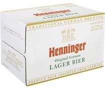 Henninger Premium Lager Bottle 330mL