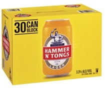 Hammer N Tongs Gold Block Can 330mL