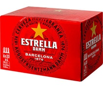 Estrella Damm Lager Bottle 330mL