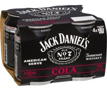 Jack Daniels American Serve & Cola 250mL