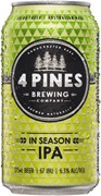 4 Pines Brewing In Season IPA Can 375mL