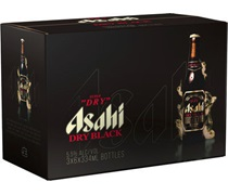Asahi Super Dry Black Bottle 334mL