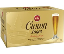 Crown Lager Bottle 375mL