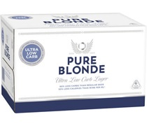Pure Blonde Bottle 355mL