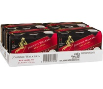 Johnnie Walker Red & Cola Can 375mL
