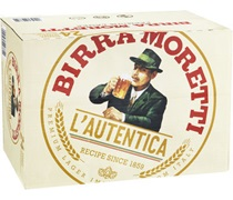 Moretti Italian Bottle 330mL
