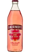 Smirnoff Raspberry Lime & Soda Bottle 500mL