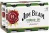 Jim Beam White & Dry Can 375mL