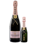 Moet Chandon Rose Brut NV Champagne & 200mL Piccolo Bundle