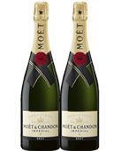 Moet & Chandon Brut Imperial NV Champagne Twin Pack