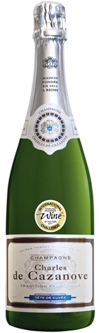 Charles de Cazanove Brut Tradition NV 750mL