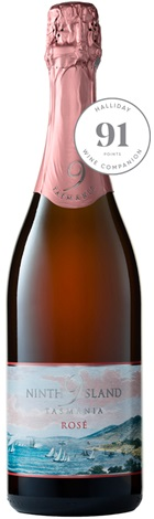 Ninth Island Sparkling Rose NV 750mL
