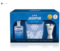 Jodhpur Gin 50mL Gift Pack