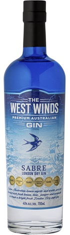 West Winds Sabre Gin 700mL