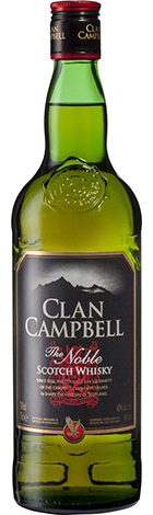Clan Campbell Scotch Whisky 700mL