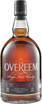 Overeem Port Cask Single Malt 43% Whisky 700mL
