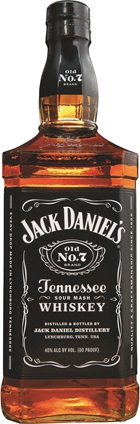 Jack Daniels Tennessee Whiskey 1 Litre