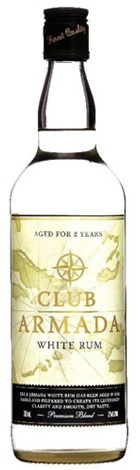 Club Armada White Rum 700mL