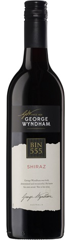 George Wyndham Bin 555 Shiraz 750mL