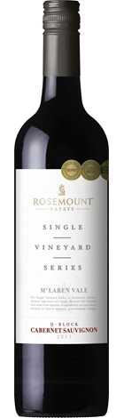 Rosemount Single Vineyard Cab Sauv Museum 2011 750mL