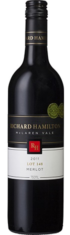 Richard Hamilton Lot 148 Merlot 750mL