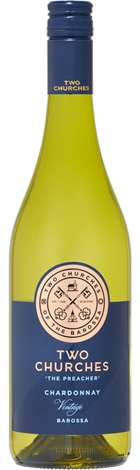 Two Churches Barossa Chardonnay 750mL