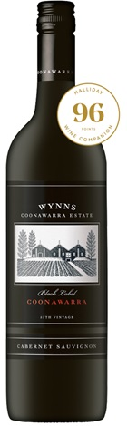 Wynns Black Label 2012 cabernet Sauvignon 750mL