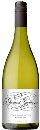 Elysian Springs Pennies from Heaven Sauv Blanc 750mL