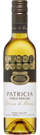 Brown Brothers Patricia Late Harvest Noble Riesling 375mL