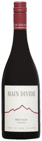 Main Divide Pinot Noir 750mL