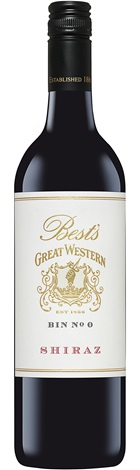 Bests Great West Bin '0' Shiraz 750mL