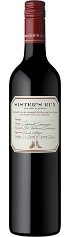 Sisters Run Cabernet Sauvignon 750mL