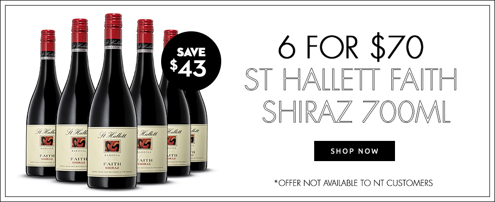 6 for $70 St Hallett Faith Shiraz 700mL - Shop Now