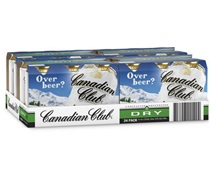 Canadian Club Dry Can 375mL