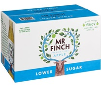 Mr Finch Apple Lower Sugar Cider Bottle 330mL