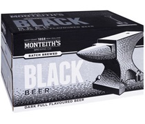 Monteiths Black Beer Bottle 330mL
