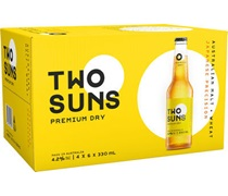 Two Suns Premium Dry Bottle 330mL