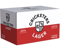Cricketers Arms Keepers Lager Bottle 330mL