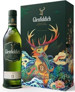 Glenfiddich 12YO Scotch Whisky Lunar New Year Pack 700mL