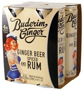 Buderim Ginger Beer & Spiced Rum 250mL